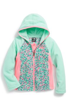 The North Face 'Glacier' Hoodie (Toddler Girls & Little Girls) Toddler Girl Style, Toddler Girl Outfits, Toddler Fashion, Kids Fashion, Fashion Clothes, Fashion Outfits, Baby Outfits, Cute Outfits For Kids, My Baby Girl