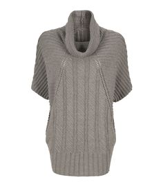 Cable Knit Cowl Topper in Grey (more colours available) #rickis #fall2015