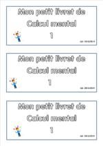 """Calcul mental """"J'apprends les maths"""" cp/ce1/ce2 - version 2013/2014"""