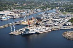 Rauma Harbour, Finland