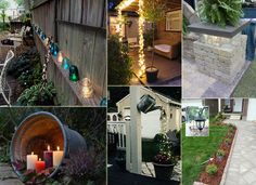21 DIY Lighting Ideas for Summer Patio and Yard. #summerlights #outdoorlighting #diylighting #summernight