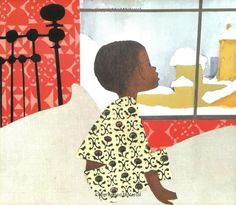 The Snowy Day by Ezra Jack Keats (My favorite bedtime book as a child)