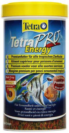 Tetra 141568 TetraPro Energy, Premiumfutter für tropische Zierfische für Gesundheit und extra Energie, 500 ml: Amazon.de: Haustier
