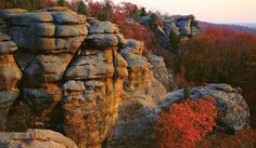 Garden of the Gods to Lusk Creek Canyon, Shawnee FL, IL (Terry Donnelly)