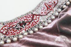 Mittelalter Kleid Rowena, Hochzeitskleid Borte