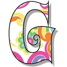 Buchstabe - Letter G