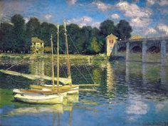 The Bridge at Argenteuil,1874 by Claude Monet
