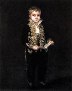 Portrait Of Victor Guye by Francisco de Goya