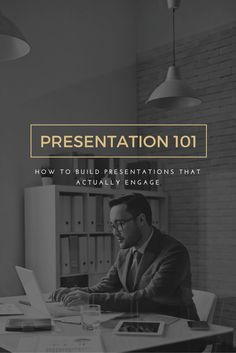 Presentation Design 101: How to build presentations that really engage [with templates]