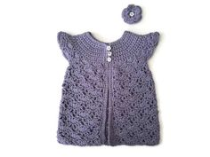 Baby girl lace dress cotton baby pinafore over by CreationsbyNinaB