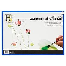 Hunter Studio 24 Page A3 Artist S Watercolour Paper Pad Paper