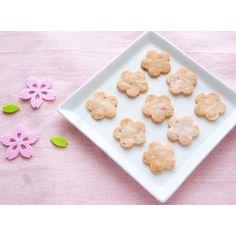 クミタス レシピ さっくさく桜の米粉クッキー(卵・乳製品・小麦・ナッツ不使用)