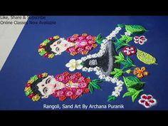 Sanskar Bharti Rangoli Designs, Share Online, Sand Art, Shiva, Art Forms, Drawings, Videos, Youtube, Color