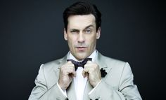 The Maddest Man: Jon Hamm - You know him as the serious and mysterious Don Draper of Mad Men. But do you know Jon Hamm, the funny man? Jon Hamm, Don Draper, Mad Men, Don Jon, Improv Comedy, Larry David, Bryan Cranston, True Detective, Hollywood