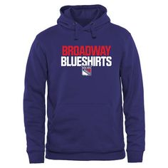 e0aaa9770 New York Rangers Home Ice Pullover Hoodie - Royal