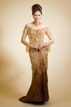 Kebaya Wedding Dress