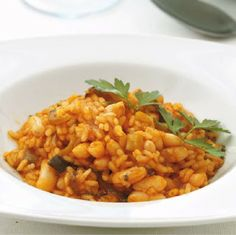 Your Spanish Recipes: Empedrado (Paella with beans)
