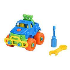 Rosennie Disassembly Truck Design Educational Toys for Children Christmas Gift