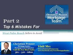 When you have a West Palm Beach property for sale, it's more important than ever to see that your homeowners insurance is up to date.Check this out: http://www.christianpenner.com/part-2-top-6-mistakes-for-west-palm-beach-sellers-to-avoid-property-for-sale/