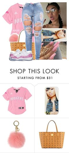 """""""pink affair"""" by lamamig ❤ liked on Polyvore featuring MICHAEL Michael Kors, MCM and Retrò"""