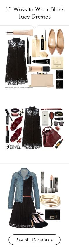 """""""13 Ways to Wear Black Lace Dresses"""" by polyvore-editorial ❤ liked on Polyvore featuring blacklacedress, waystowear, Maison Francis Kurkdjian, Elizabeth Arden, Dolce&Gabbana, Christian Louboutin, See by Chloé, MAC Cosmetics, Jo Malone and Bobbi Brown Cosmetics"""