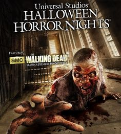 FRIGHT-FEST! AMUSEMENT ATTRACTION! FULL The Walking Dead haunted house at Halloween Horror Nights 2013 | Jerry's Hollywoodland Amusement And...