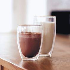 Bodum Pavina Glass, Double-Wall Insulate Glass, Clear, 12 Ounces Each (Set of Glass Coffee Cups, Glass Rack, Mug Printing, Egg Shape, Personalized Mugs, Slushies, Custom Mugs, Coffee Travel, Tea Mugs