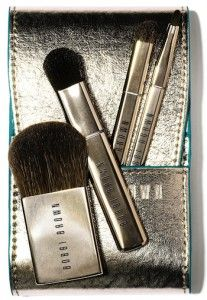 New Brushes: Bobbi Brown Desert Twilight Mini Brush Set includes the essentials -- without taking up much space. (212 872 2681)