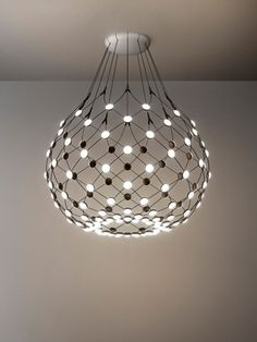 Mesh pendant by Francisco Gomez Paz. Mesh is perfect for both the home and contract markets.