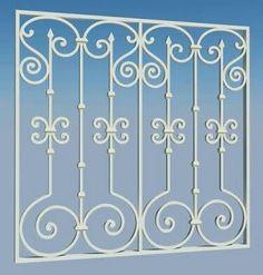 Iron Window Grill, Grill Gate Design, Window Grill Design Modern, Balcony Grill Design, Balcony Railing Design, Window Design, Wrought Iron Window Boxes, Wrought Iron Fences, Wrought Iron Doors