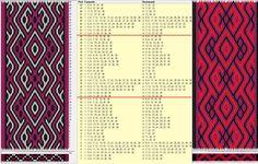 Variación 38 tarjetas, 3 colores, repite cada 20 movimientos // sed_706a diseñado en GTT༺❁