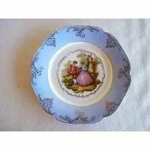 Prato Em Porcelana Maua Decorativo