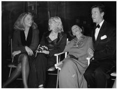 Kathleen Turner, Madonna, Martha Graham and Calvin Klein