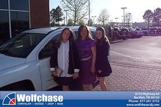 Wolfchase Chrysler Jeep would like to say Congratulations to Janice Ragsdale on the 2014 Jeep Compass