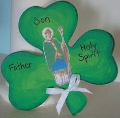 St Patrick craft