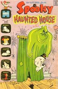Spooky Haunted House (1972) comic books
