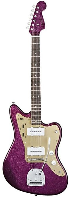 Fender J Mascis Artist Series Jazzmaster~I would learn if I had a purple guitar!