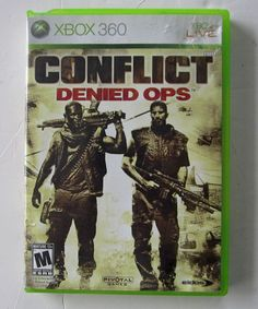 Conflict: Denied Ops (Microsoft Xbox 360, 2008) DISC ONLY
