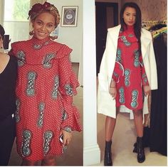Temi Otedola And Beyonce In Ankara: Who Wore It Better? - Celebrities - Nigeria