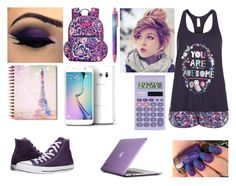 """""""takie cuś :D"""" by cry-baby-089 ❤ liked on Polyvore featuring Accessorize, Vera Bradley, Speck, Casio, Converse and Samsung"""
