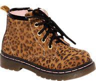 Bobbi-Shoes Veterschoen halfhoog met luipaardprint