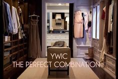 Manhattan Upper East side NYC - Just adore this chic Walk-in Closet
