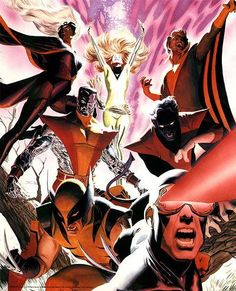 alex ross - X-men
