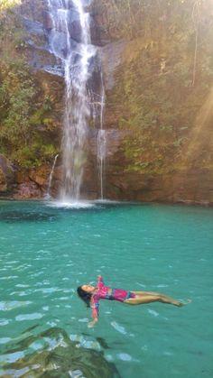 Cachoeira Santa Bárbara, Chapada dos Veadeiros - GO