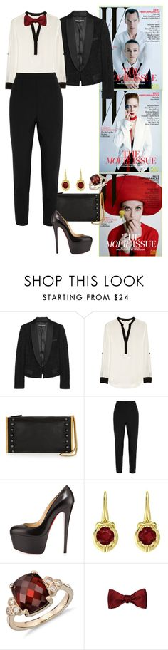 """""""'W' Magazine - The 2015 Movie Issue: Inside Feature."""" by foreverforbiddenromancefashion ❤ liked on Polyvore featuring Dolce&Gabbana, Karl Lagerfeld, Lanvin, Christian Louboutin, Gemvara, Blue Nile, women's clothing, women, female and woman"""