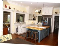 Modern Design Of Country Kitchen 4 Color Country Kitchen Ideas