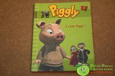 """Livre souple Piggly - A l'aide Piggly ! - n° 3 - Collection """"Ma p'tite collec"""" - Editions Hachette - 47 pages"""