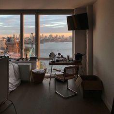 ⌁ home: ⌁ Apartment View, Dream Apartment, Seoul Apartment, Seattle Apartment, Apartment Goals, York Apartment, Dream Rooms, Dream Bedroom, City Bedroom