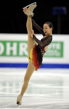Mao Asada, Black Figure Skating / Ice Skating dress inspiration for Sk8 Gr8 Designs