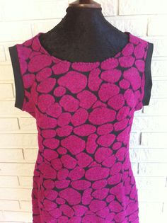 Made by Anne-Britt Nygaard- Facebook: 2sisters redesign. Dress in one of my favourite fabrics